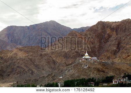 Shanti stupa in Leh Ladakh and nice people