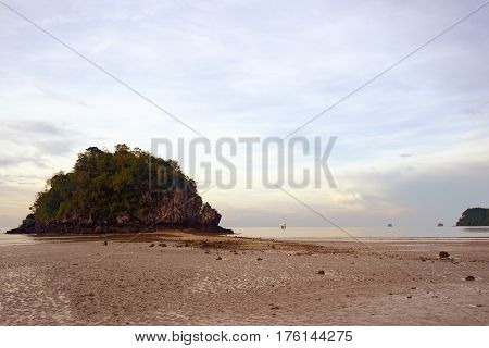 The Low tide in the Andaman Sea