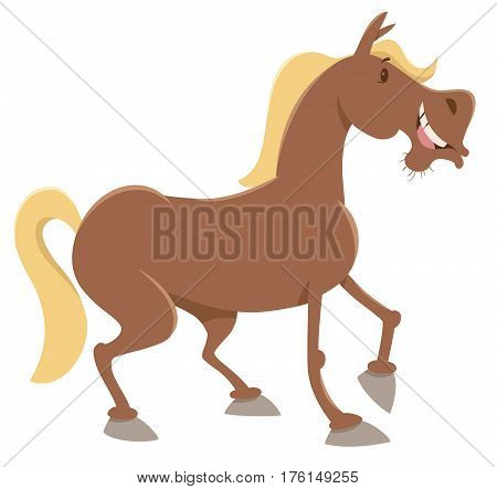 Horse Farm Animal Character
