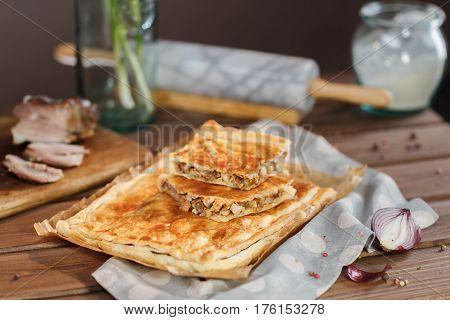 A Square Potato Pie