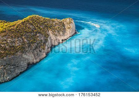 Landscape Of Navagio Bay