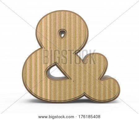 Corrugated Ampersand Mark