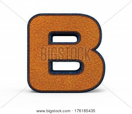Brown Letter B