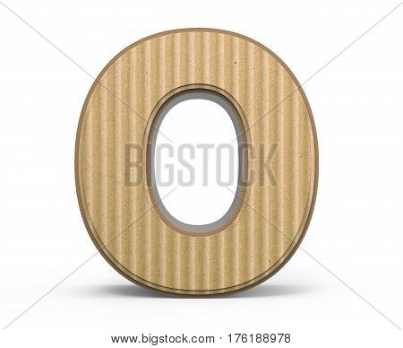 Corrugated Number 0