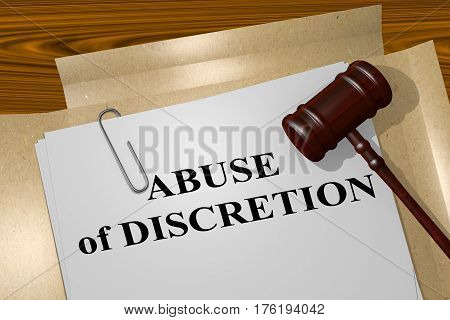 Abuse Of Discretion Concept