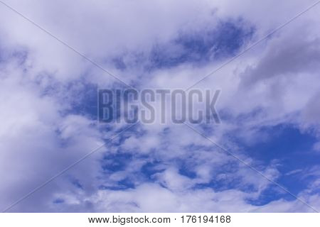 Beauty blue sky with cloud, nature background