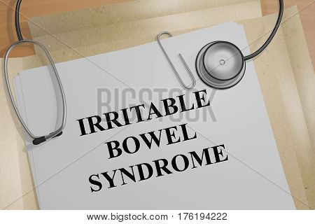 Irritable Bowel Syndrome - Medical Concept