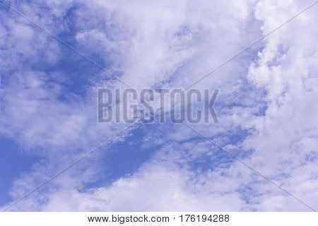 cloud in sky , nature background texture