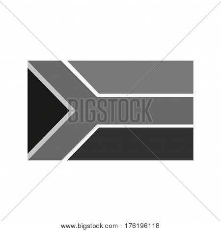 South Africa, flag, national icon vector image. Can also be used for flags. Suitable for web apps, mobile apps and print media.