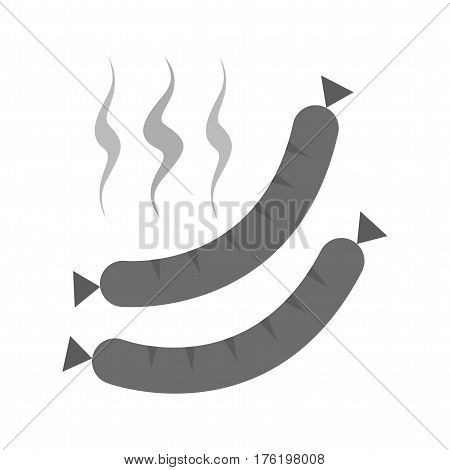 Sausage, grill, hotdog icon vector image. Can also be used for oktoberfest. Suitable for mobile apps, web apps and print media.