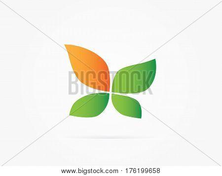 Vector Illustration Four leaf clover collection colorful for website logo