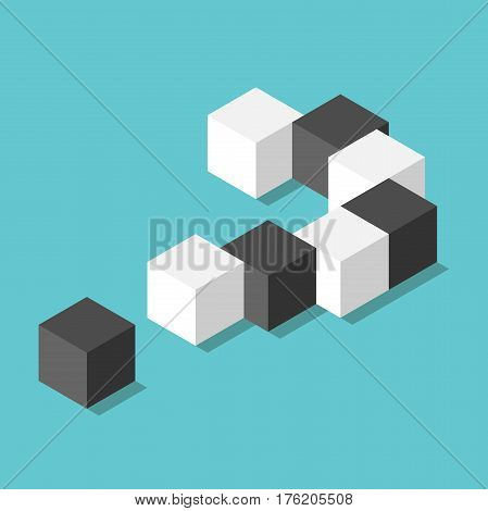 Isometric Question Mark