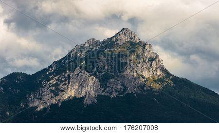 Velky Rozsutec in Mala Fatra Mountain Range, Slovakia