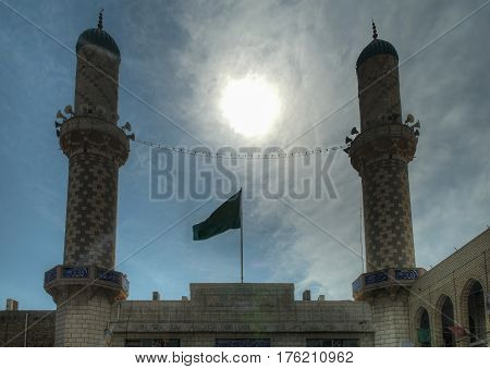 Baratha mosque aka Spoiled Boy mosque in Baghdad, Iraq