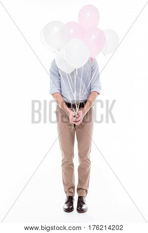 Man With Air Balloons