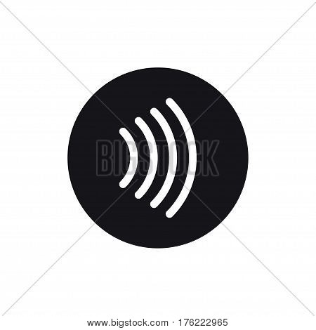 Contactless payment icon. Tap to pay concept - vector sign.
