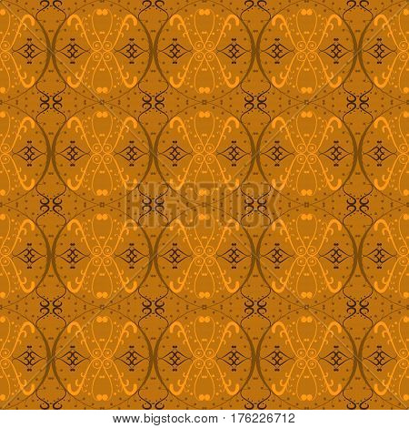 Islamic pattern . Seamless arabic geometric pattern, east ornament, indian ornament, persian motif, . Endless texture can be used for wallpaper, pattern fills, web page background .