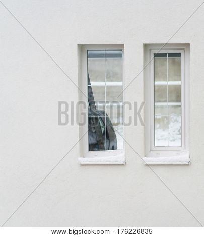 House window outside