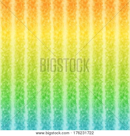 Striped Pattern Summer Sea Colors Continuous to Right and to Left. Universal Bright Abstract Background of Gradient Smooth Strips.
