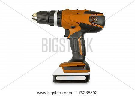 Orange Color Cordless Combi Drill