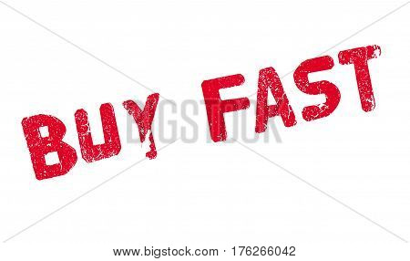 Buy Fast rubber stamp. Grunge design with dust scratches. Effects can be easily removed for a clean, crisp look. Color is easily changed.