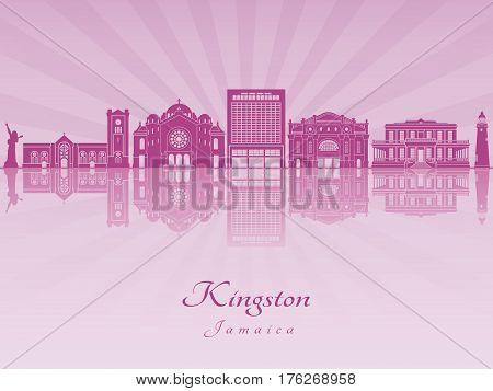 Kingston In Purple Radiant Orchid