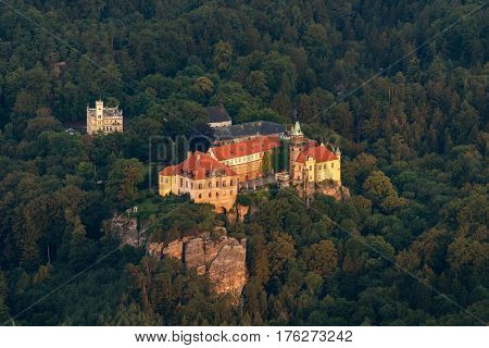 Hruba Skala Castle, Bohemia paradise, Czech republic