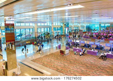 Changi Airport Terminal Overview, Singapore