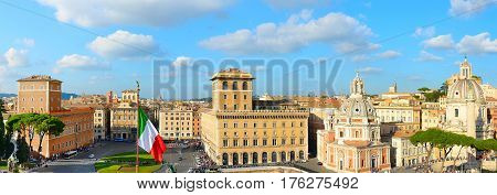 Roma Panoramic View, Italy