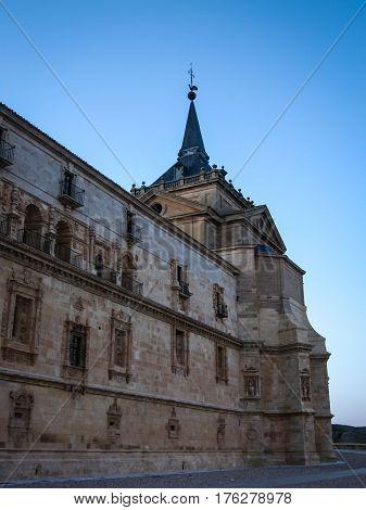 Medieval monastery in Toledo, Castilla la Mancha, Spain