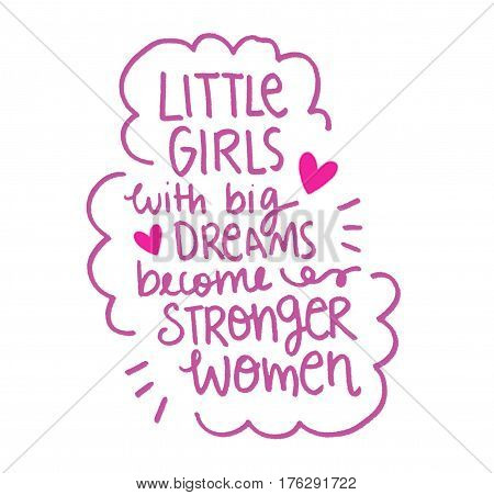 Girl power motivational quote for women empowerment