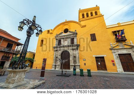 Yellow Santo Domingo Church