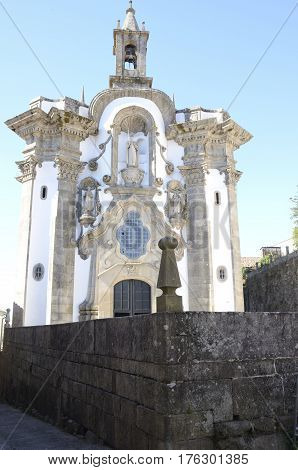 Church of San Telmo in Tui a town of the province of Pontevedra in Galicia Spain.