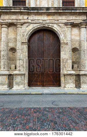 Santo Domingo Church Door