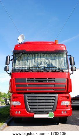 Truck With Satellite Dish