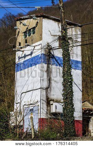 Torre Luz Mieres Asturias Vegadotos Rioturbio minería