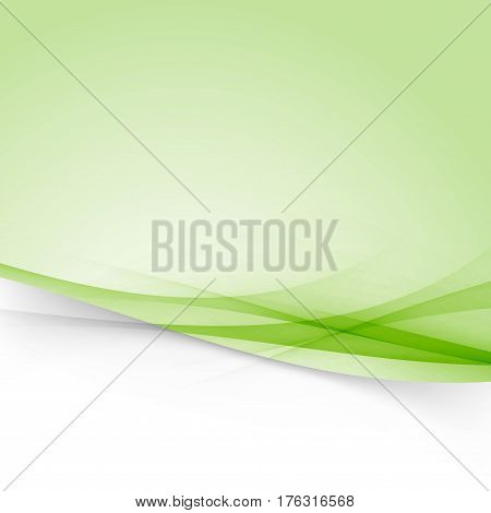 Modernistic abstract futuristic swoosh line layout vivid background template. Vector illustration