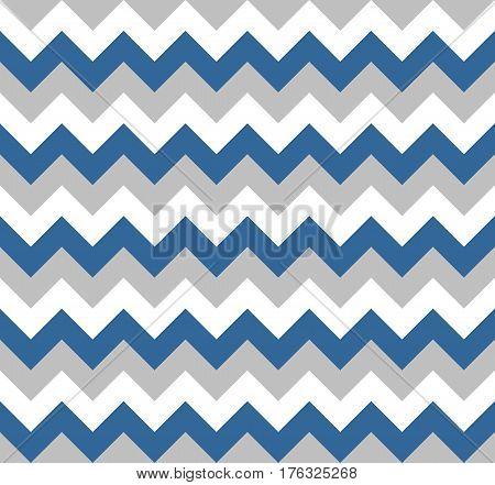 Chevron pattern seamless vector arrows geometric design colorful white grey blue