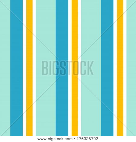 Striped seamless pattern. Colorful line vector background.Vertical strips for summer.