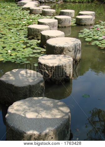 Long Stepping Stones Path