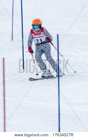 Joao Silva During The Ski National Championships