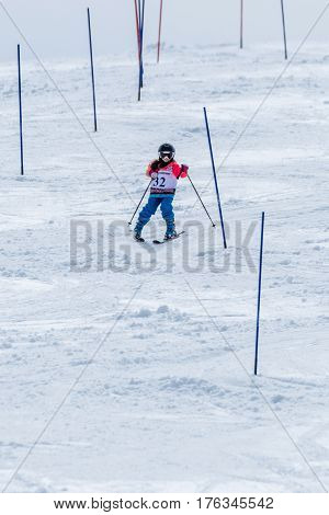 Beatriz Curto During The Ski National Championships
