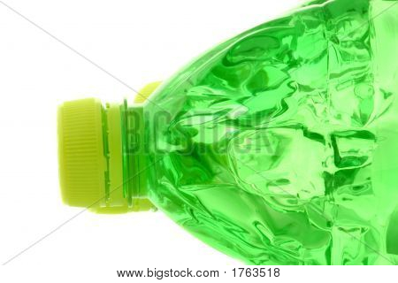 Cap At Green Bottle