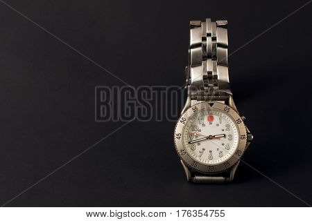 a photo of a watch with blank background
