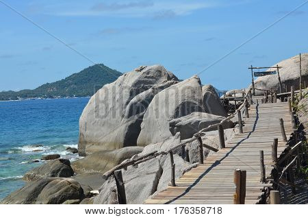 Koh Nang Yuan,Koh Tao,Suratthani provincem in the Gulf of Thailand