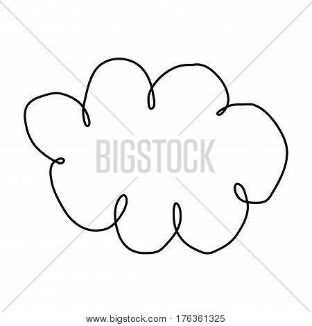 figure clound network service icon, vector illustration design