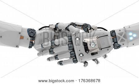Robot Hand Shaking