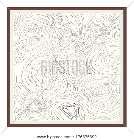 Topographic map. Flat design vector illustration vector.