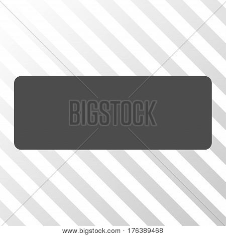 Minus vector pictogram. Illustration style is a flat iconic gray symbol on a transparent background.