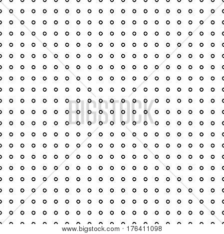 Abstract trendy pattern with hand drawn polka dots. Cute vector black and white trendy pattern. Seamless monochrome trendy pattern for fabric, wallpapers, wrapping paper, cards and web backgrounds.